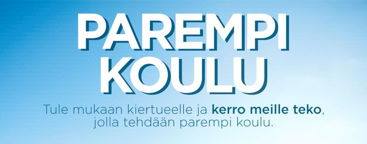 Parempi koulu -kiertue Hämeenlinnassa 17.11.
