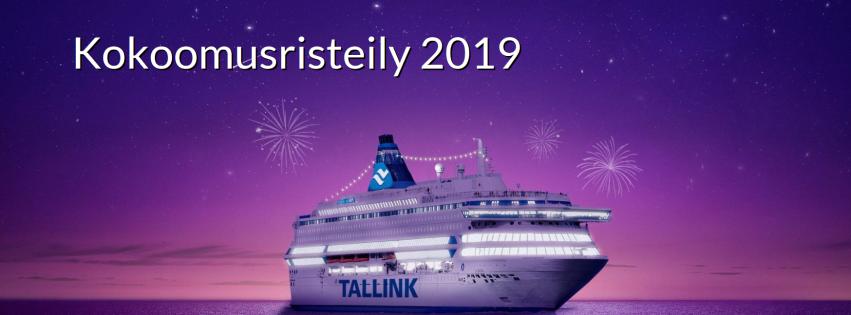 Iloinen kokoomus-joukko risteilee 19.1.-20.1.2019