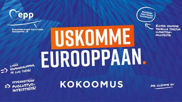 Tervetuloa tutustumaan eurovaaliehdokkaisiimme!